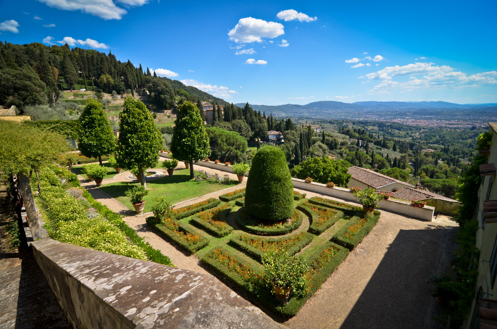 Florence Medici Villas And Gardens In Tuscany Unesco
